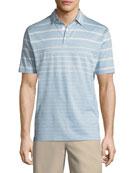 Summer Swells Striped Polo Shirt