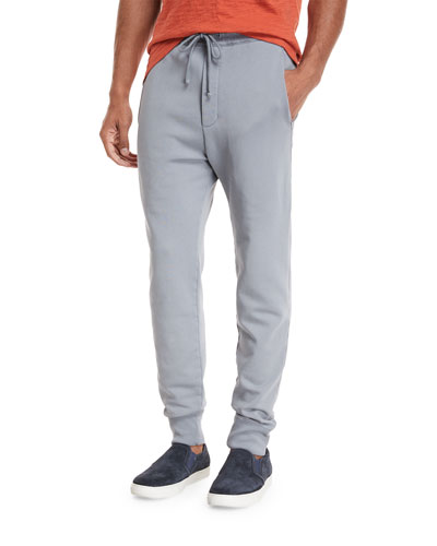 Cotton Jogger Sweatpants with Pockets