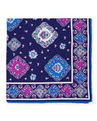 Moroccan Silk Pocket Square