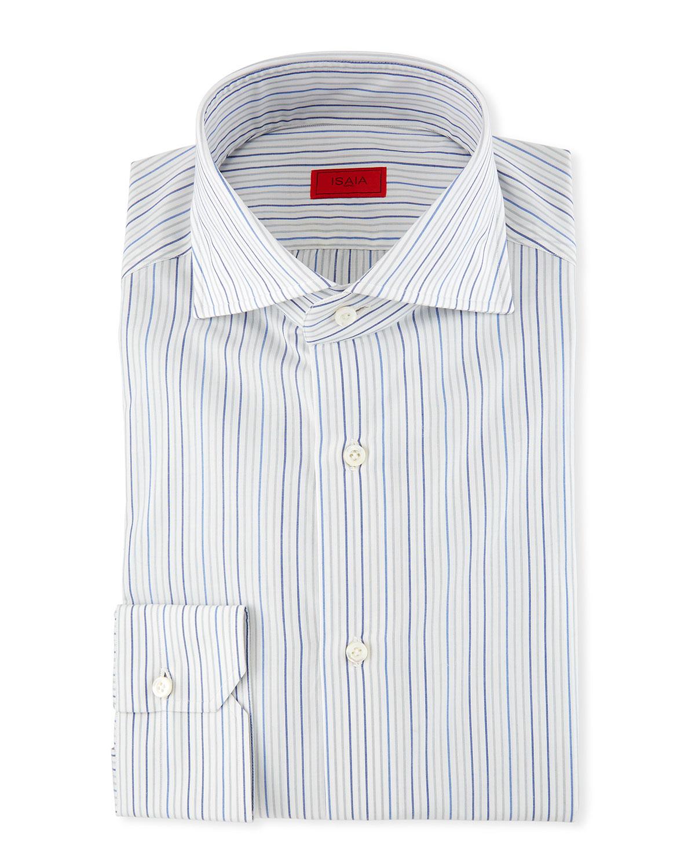 Multi-Stripe Dress Shirt