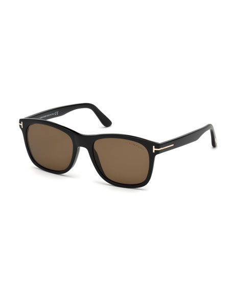TOM FORD Eric Square Acetate Sunglasses