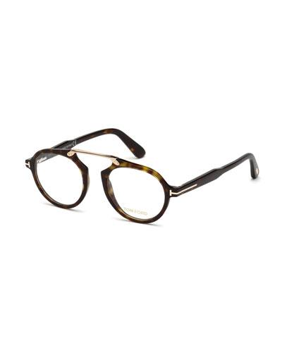 Havana Optical Bridgeless Glasses