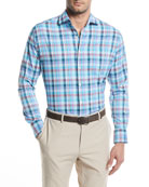 York Performance Plaid Sport Shirt