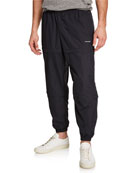 Balenciaga Men's Zip-Panel Convertible Track Pants
