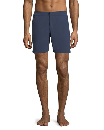 Aruba Modern-Fit Swim Shorts