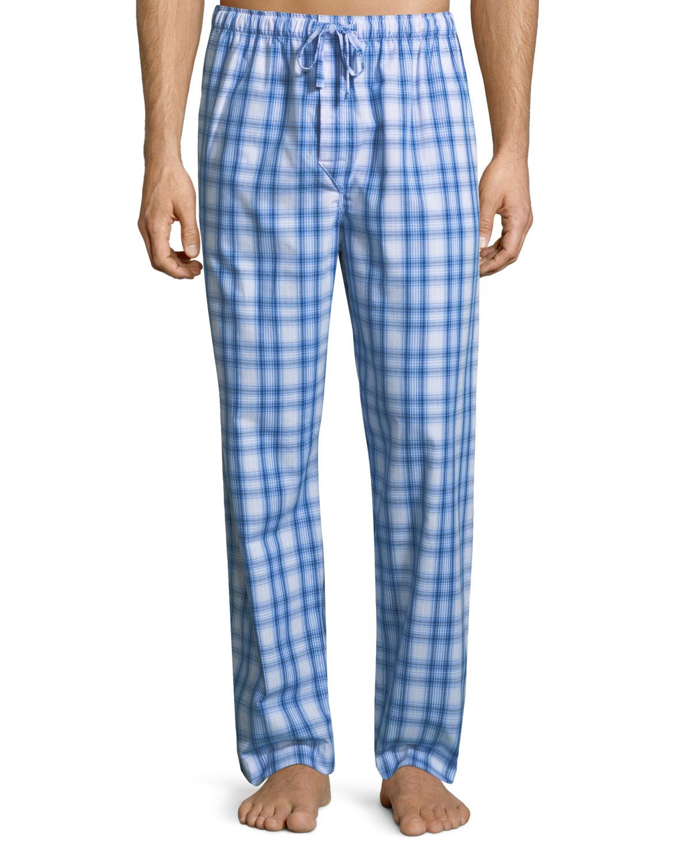 Ranga 30 Plaid Cotton Lounge Pants