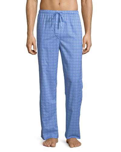 Ledbury 5 Medallion-Pattern Cotton Lounge Pants