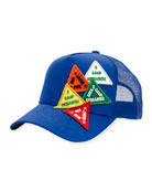 Baseball Hat w/Patches