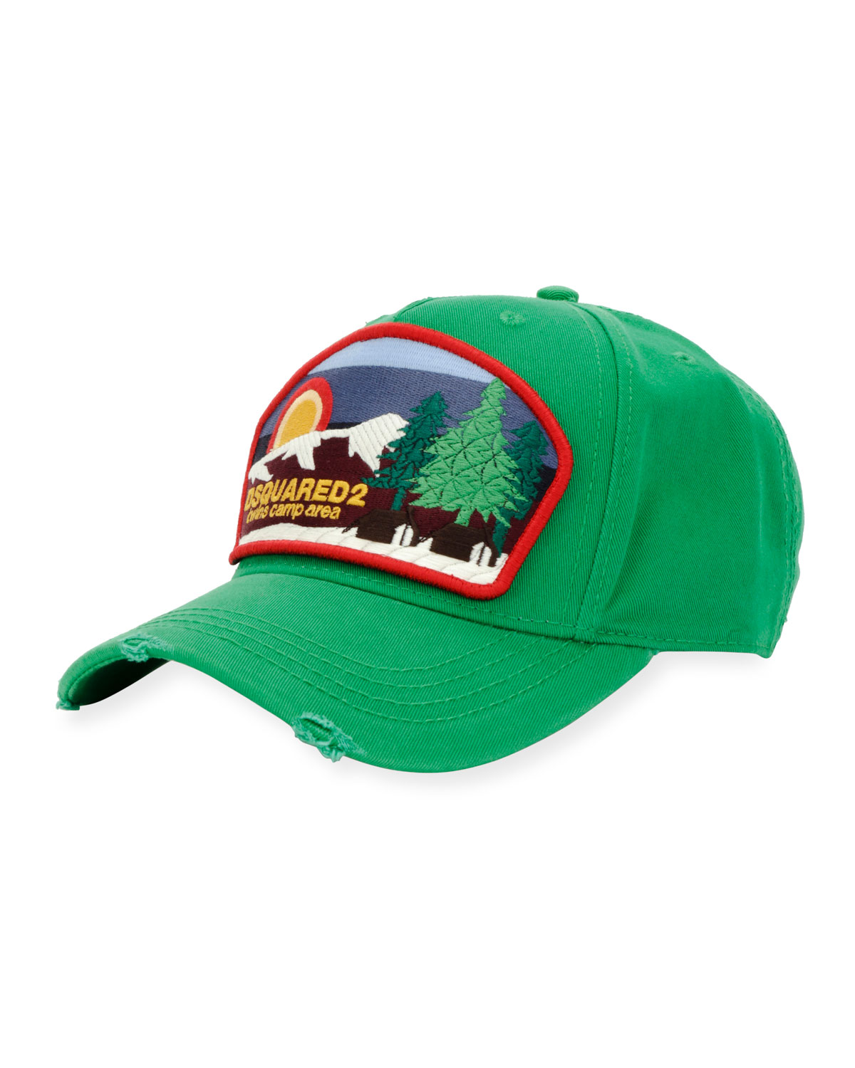Camp Patch-Front Baseball Cap