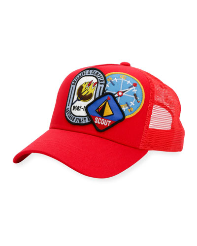 Camp Patch Baseball Cap