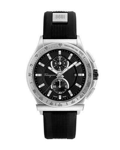 44mm 1898 Two-Tone Watch, Black