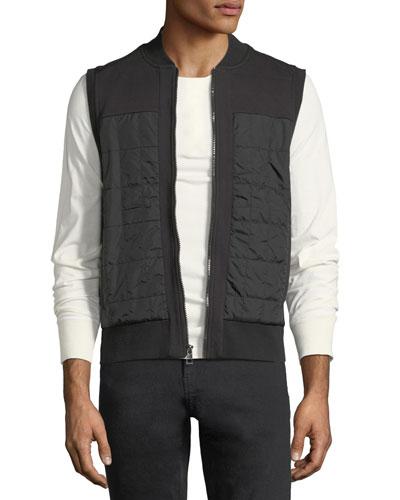 Nomad Quilted Zip-Front Vest