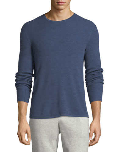Gregory Waffle-Knit Merino Wool Sweater