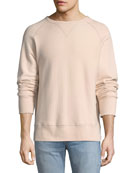 Racer Cotton Sweatshirt