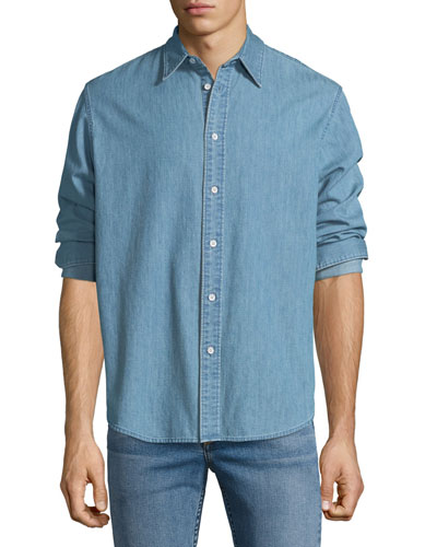 Men's Denim Fit-3 Shirt