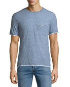 Men's Tripp Contrast-Trim T-Shirt