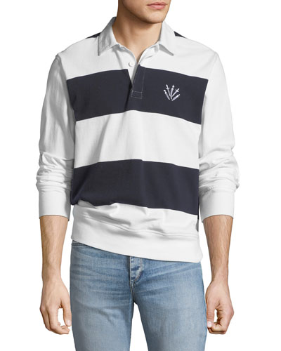Long sleeves polo shirt neiman marcus quick look publicscrutiny Choice Image