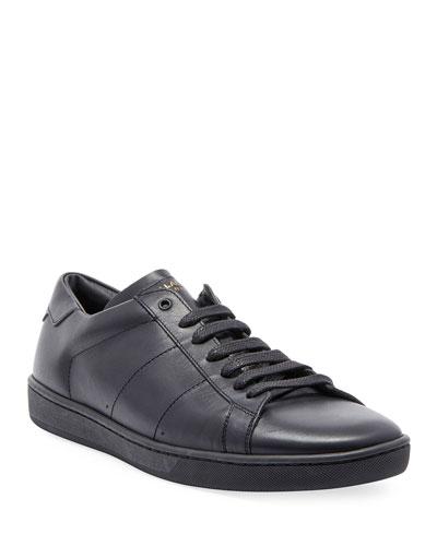 Men's SL01 Leather Low-Top Sneaker
