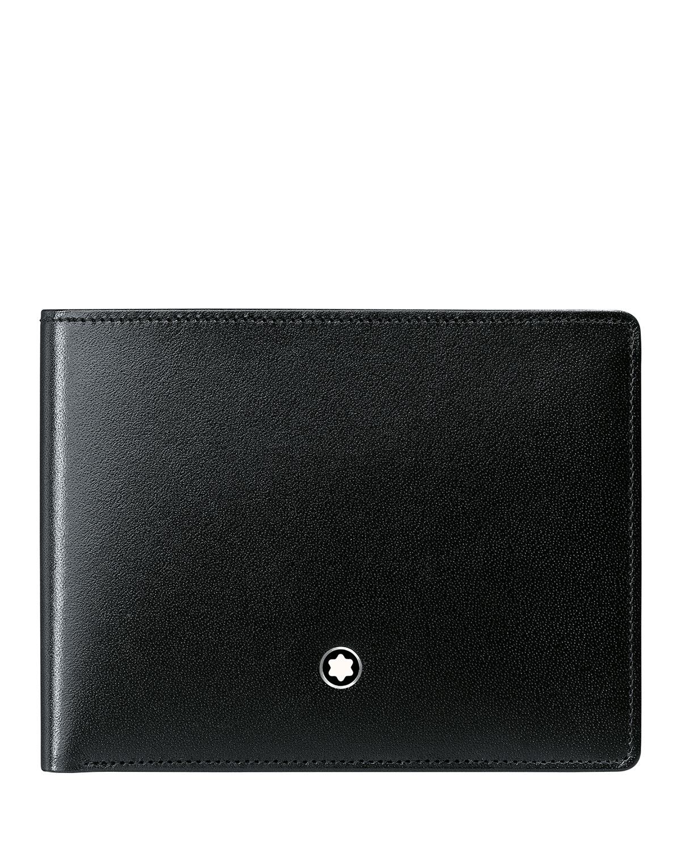 Meisterstück Slim Leather Bifold Wallet