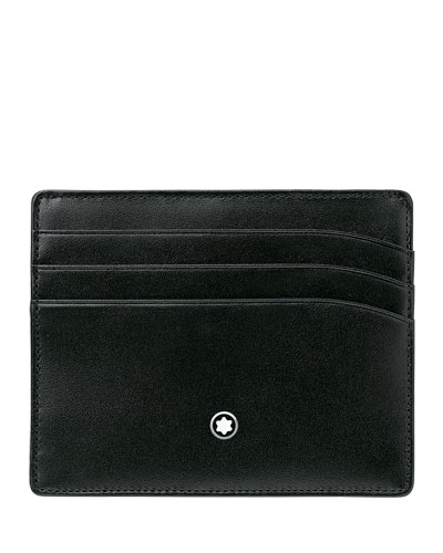 Meisterstück Pocket Leather Classic Card Holder