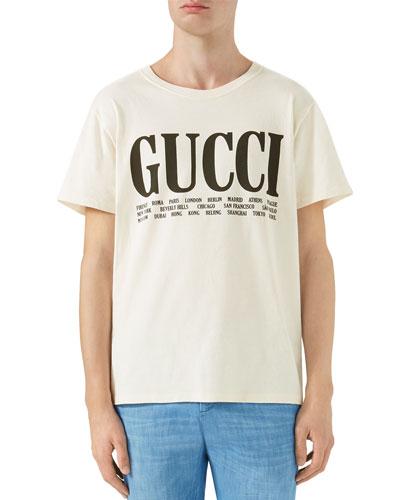 cf6c1e1d3c6 Quick Look. Gucci · Big Vintage Logo T-Shirt