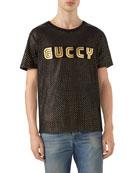 Guccy Block Logo T-Shirt