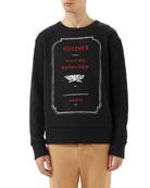 Graphic-Front Sweatshirt