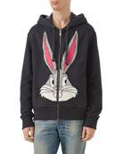 Bugs Bunny Zip-Front Hoodie