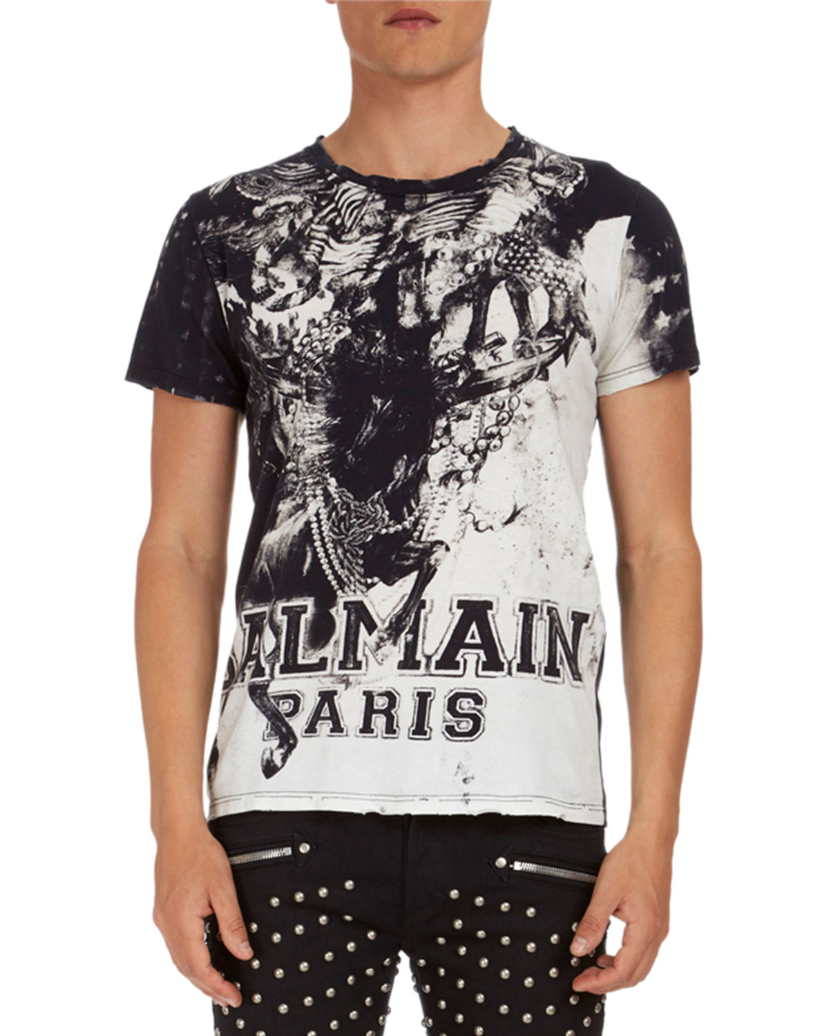 Graphic-Print Jersey T-Shirt