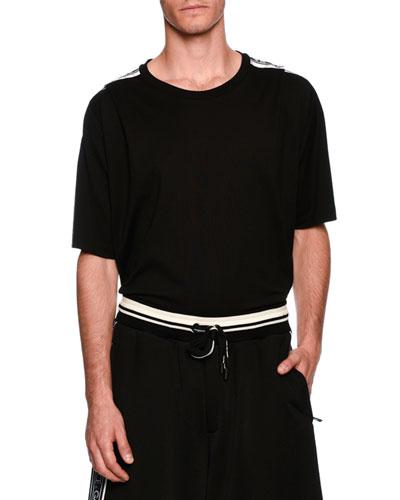 Dolce & Gabbana  CORONA PATCHED T-SHIRT