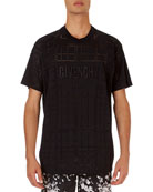Perforated Modern-Fit T-Shirt