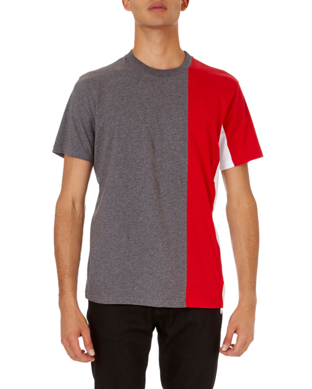 Colorblock Cuban-Fit T-Shirt