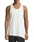 3-Stripes Asymmetric Tank Top