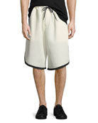 Men's 3-Stripe Mesh Shorts