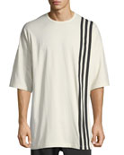 3-Stripes T-Shirt, White/Black