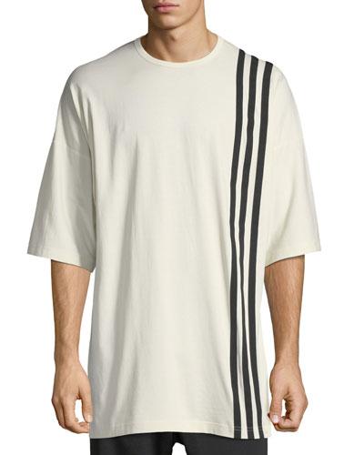 3-Stripes T-Shirt, White/Black