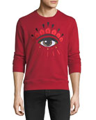 Eye Graphic Sweatshirt