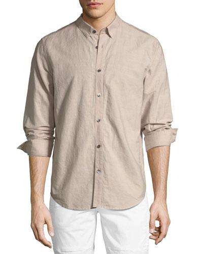 Edward Essential Linen/Cotton Sport Shirt