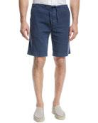 Loro Piana Linen-Blend Bermuda Shorts