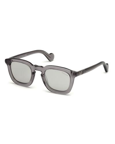 Square Plastic Universal Fit Sunglasses