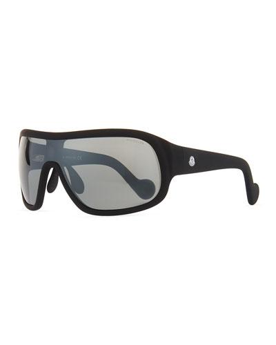 Plastic Shield Sunglasses