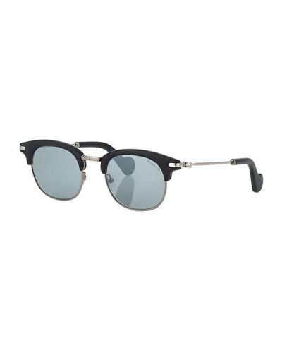 Half-Rim Universal Fit Sunglasses