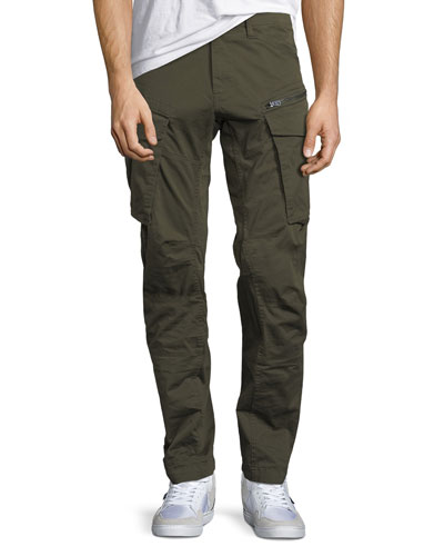 Rovic Zip-Pocket 3D Slim Tapered Cargo Jeans - 36