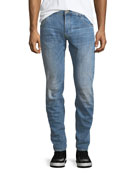 "Arc 3D Extended-Size Slim Jeans - 36"" Inseam"
