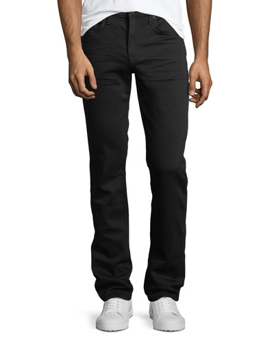 Slim-Straight Denim Jeans in Griffith - 36