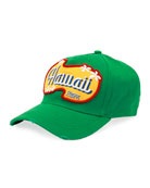 Hawaii Patch-Front Baseball Cap, Green