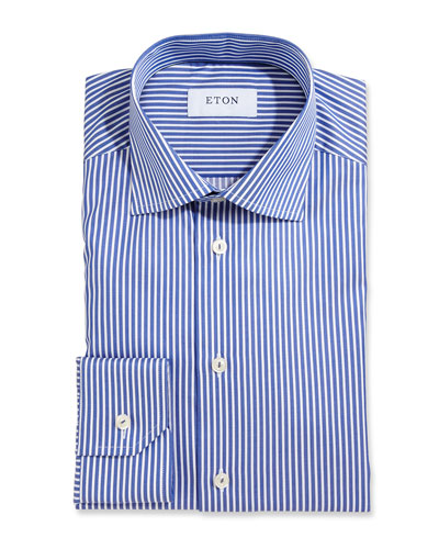 Bold Striped Dress Shirt
