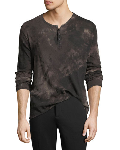 Long sleeves henley top neiman marcus quick look publicscrutiny Choice Image
