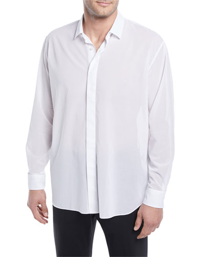 Lightweight Oversize Cotton Shirt