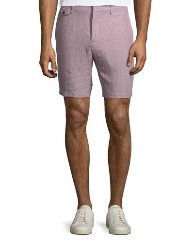 Soho Linen Trouser Shorts